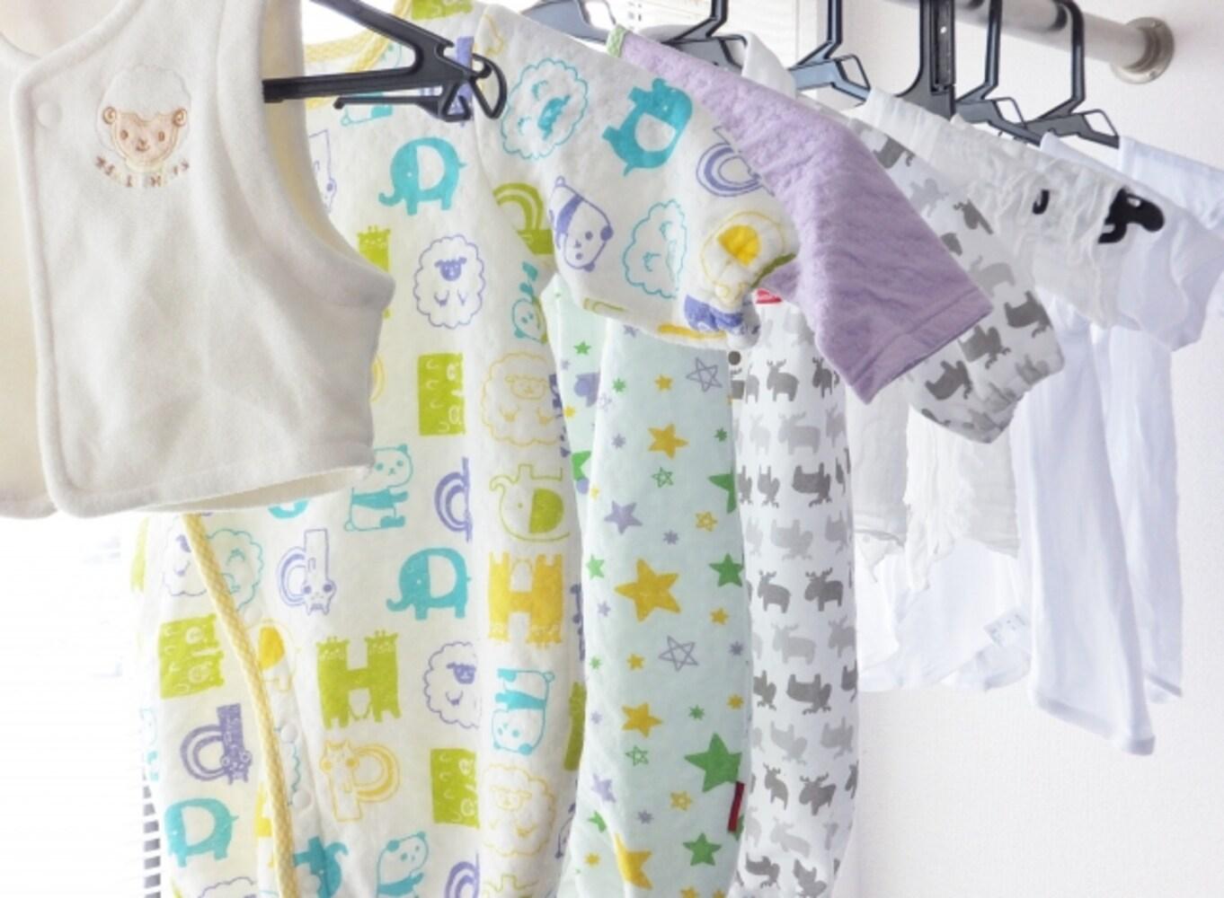 ベビー服の洗濯