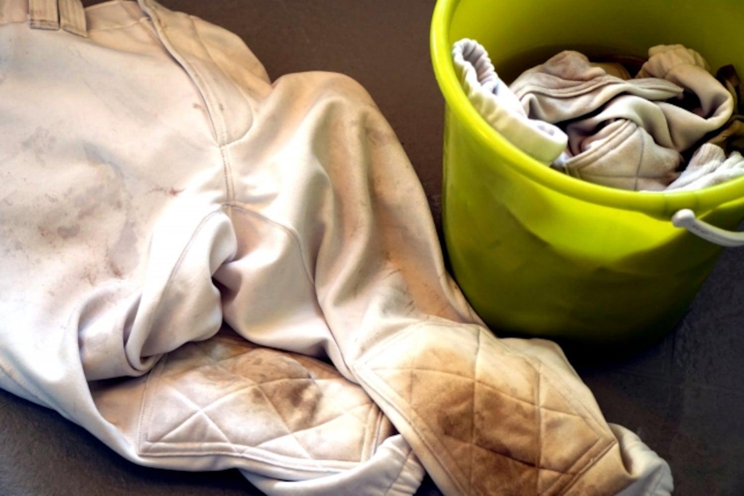 汚れた洗濯物