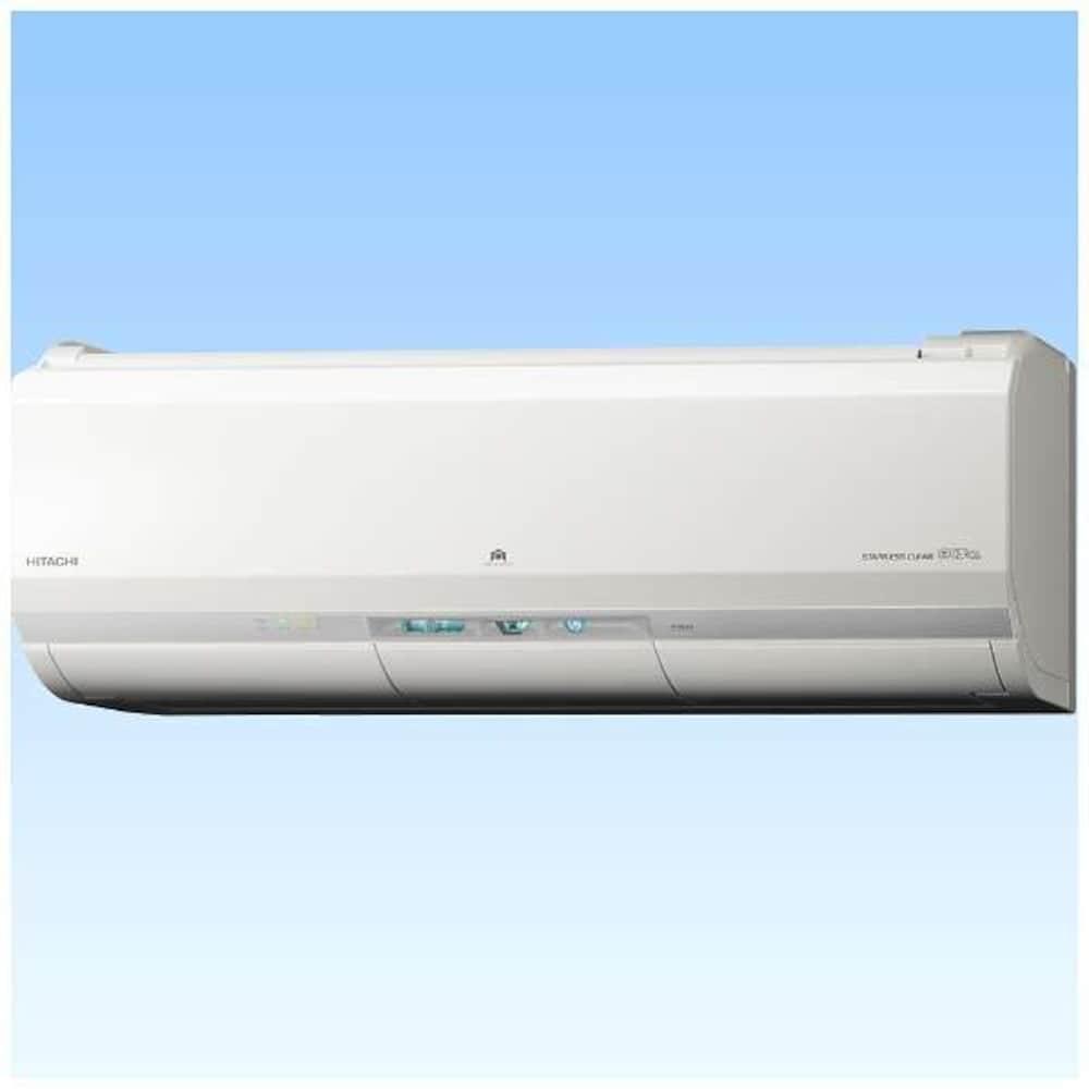 日立 【エアコン】ステンレス・クリーン 白くまくんHITACHI 電源200V・スターホワイトRAS-X28G-W