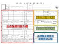 年末調整 給与所得者の保険料控除申告書の書き方【2020年・令和2年】