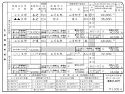 平成28年 生命保険料控除の書き方・記入例