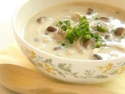 きのこのしょうが豆乳スープ!ダイエットにも最適な1人93kcal