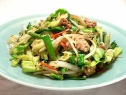 美味しい野菜炒めの作り方・レシピ。簡単な味付け、火力のコツ