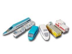 電車や新幹線のペーパークラフト・型紙を無料ダウンロード!