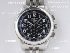 腕時計のクロノグラフとは?意味や由来 使い方を解説