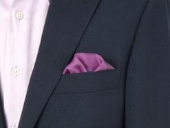ポケットチーフの折り方と入れ方を知って結婚式もOK!