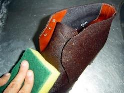 家での靴の洗い方……起毛系(ヌバック・スエード)編