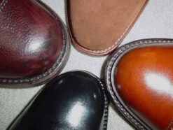 靴に使う牛革について……シューズの印象を決める革の加工の種類