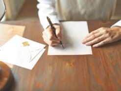 手紙(便箋・書類)の折り方、封筒への入れ方マナー