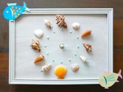 貝殻工作を夏休み自由研究に!100均材料や貝殻で「海の手作り時計」