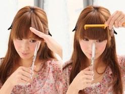 前髪のきれいな切り方・前髪セルフカットの基本
