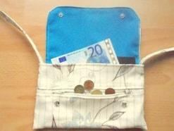 お財布ポシェットの作り方......カードも入って便利