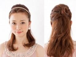 ロングヘア・美オーラを放つシンプルまとめ髪アレンジ