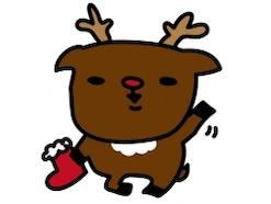 クリスマスの無料イラスト!かわいいカット&カード集/白黒・カラー