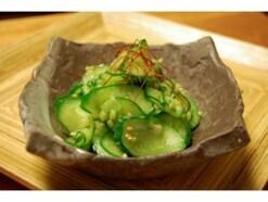 韓国の野菜料理:きゅうりのナムル
