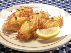 ノンフライヤーでヘルシー料理……鶏ささ身のみの揚げレシピ