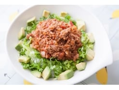 タコライス風ミートソースご飯のレシピ