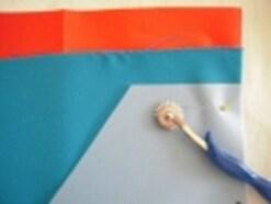 型紙の写し方と布の裁ち方のコツ