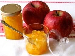 簡単りんごジャム……ゆずの香り爽やかなレシピ