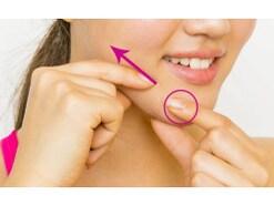 頬骨のツボを押す!ほうれい線は、1分の顔ツボで頬を引き上げて解決