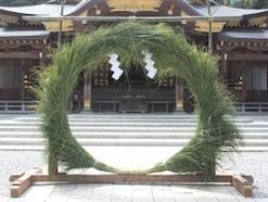 夏越の祓に茅の輪くぐりを楽しむ!由来・意味やくぐり方の作法