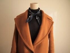 大人女子必見!590円のGU新作スカーフが超優秀