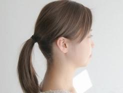 ヘアアレンジの超基本!紐ゴムを使って髪を結ぶ方法