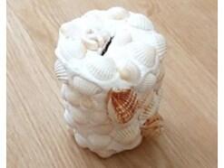 紙粘土貯金箱の簡単な作り方!100均材料や貝殻で