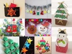 クリスマス工作・製作25選! 折り紙やオーナメントの簡単な作り方