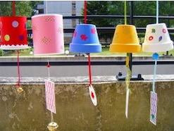 風鈴を手作り!ペットボトルや植木鉢の風鈴おもちゃの作り方