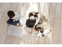 「広告チラシで折るゴミ箱」で便利&エコ
