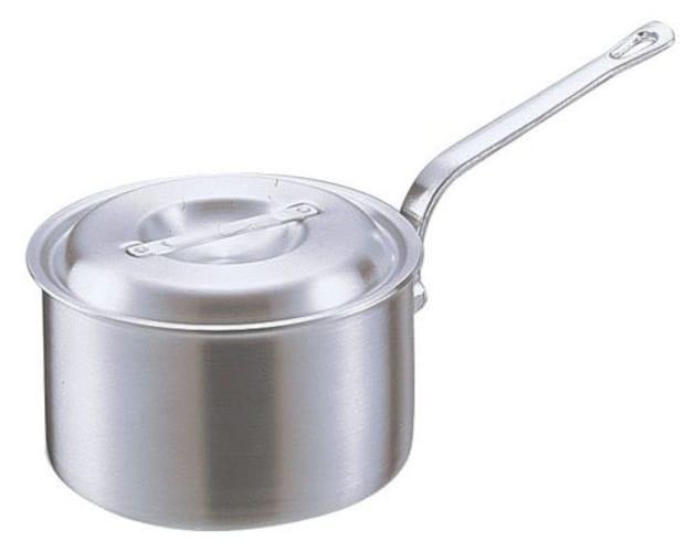 アルミの片手鍋