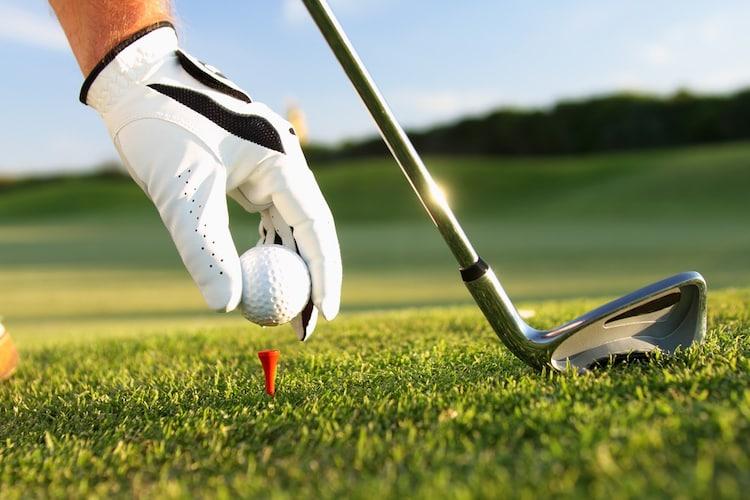 メンズのゴルフグローブ