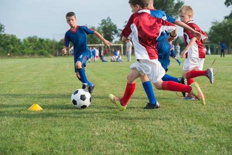 子供のサッカー