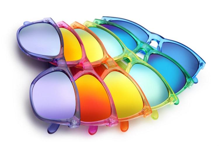 カラーサングラス