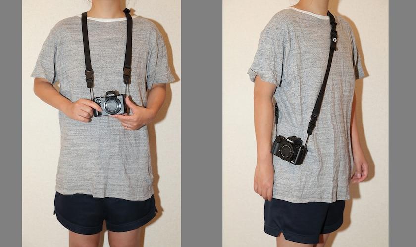 上手なカメラストラップの使い方4