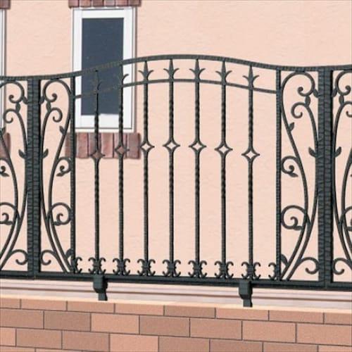 おしゃれな鋳物フェンス