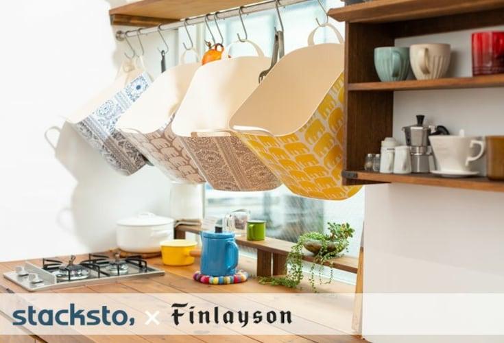 Finlayson スタックストー バケット
