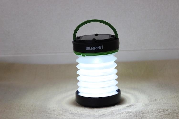 suaokiランタンの電気をつける