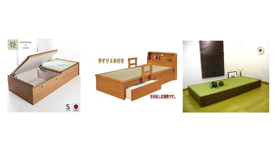 収納2|低価格で大容量「畳下式」