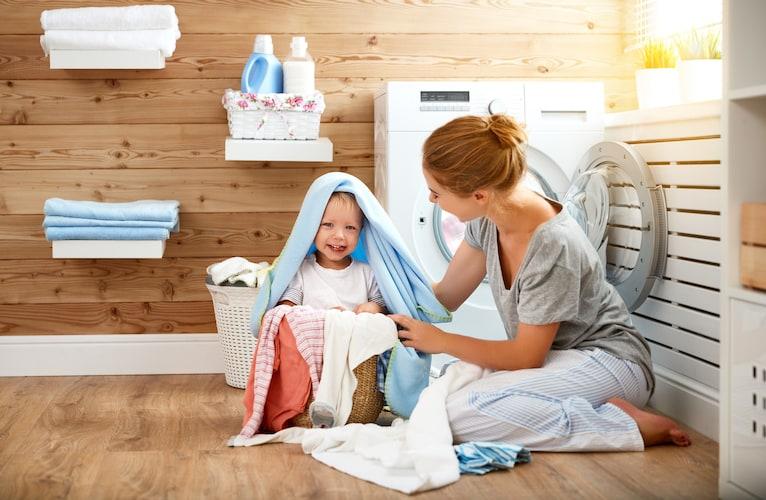 洗濯|洗濯機で丸洗いできるものが◎