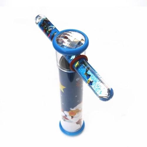 ワンドスコープ|先のガラス管を回転させたり、上下を返したりして楽しめる