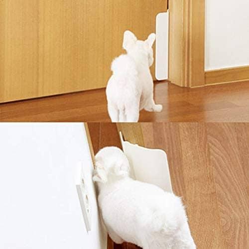 ・その他、猫ちゃんが出入りしやすい半自動ドアにするアイデア商品も
