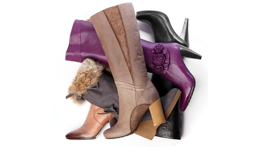 ブーツの素材|レザーはバネ式が安心、やわらか素材はネジ式やリフレッシャー