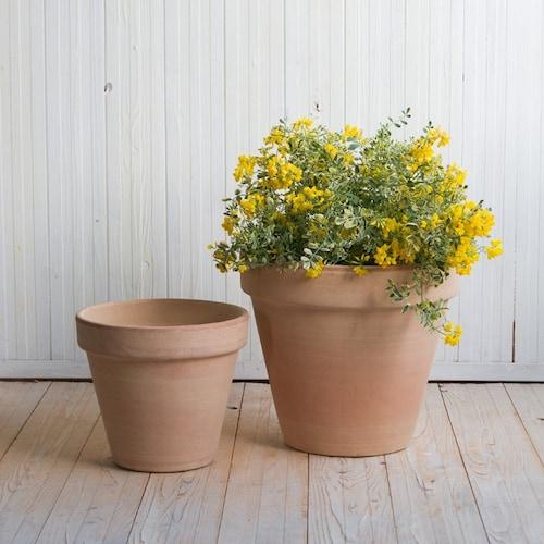 素材2|水持ちの良い「テラコッタ鉢」自然に近い「スリット鉢」