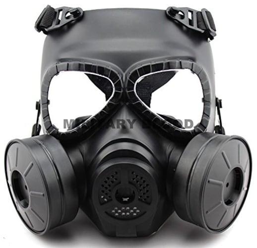 フルフェイス|BB弾から顔全体を守る!曇り止め加工されたものが◎