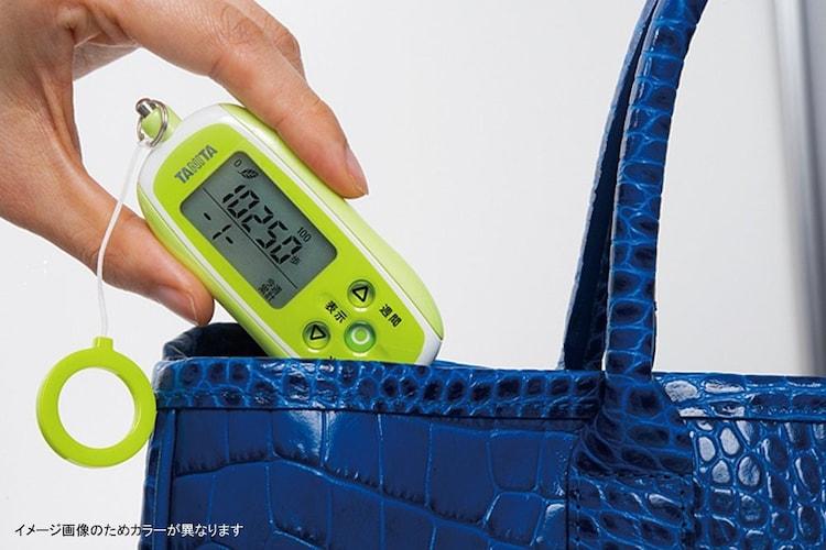 タニタの歩数計は3Dセンサーが使いやすく便利