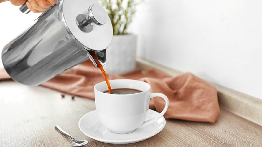 ▼パーコレーターで淹れたコーヒーは薄い?濃い?