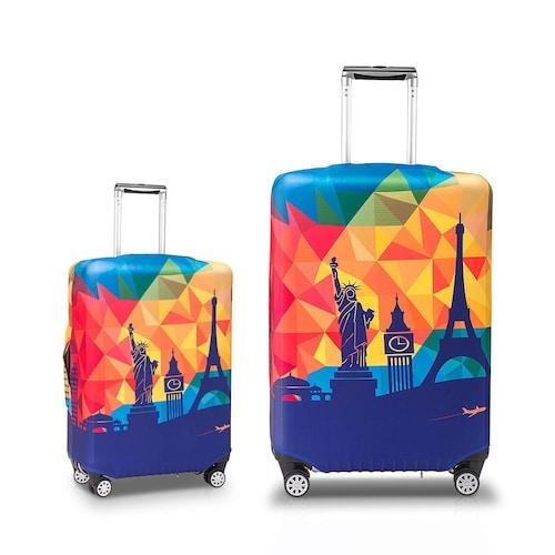 1.自分のスーツケースが認識しやすくなる