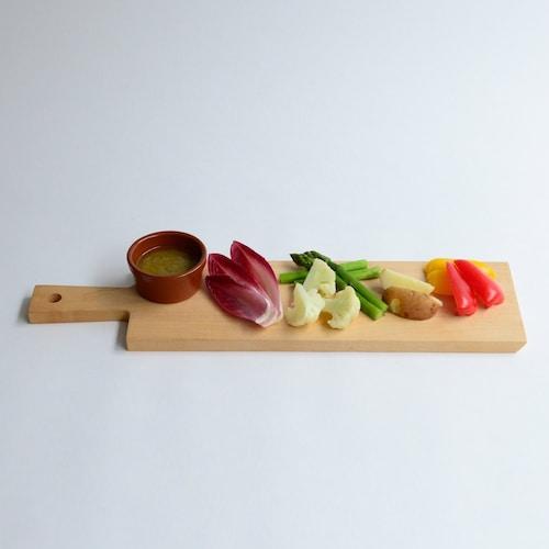 サイズ お皿として使用するなら食材よりも少し大きめのものを